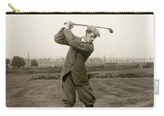 Golf: George Duncan, 1920s Carry-all Pouch