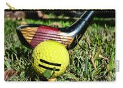 Golf - Tee Time With A 3 Iron Carry-all Pouch