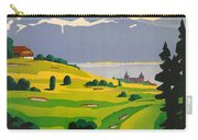 Golfing In Lausanne Carry-all Pouch
