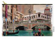 Gondolas On The Canal - Impressions Carry-all Pouch