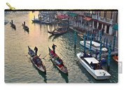 Gondolieri At Grand Canal. Venice. Italy Carry-all Pouch