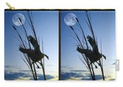 Goose At Dusk - Cross Your Eyes And Focus On The Middle Image Carry-all Pouch