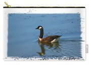 Goose On The Pond Carry-all Pouch