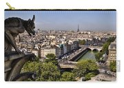Gorgyle View Of Paris Carry-all Pouch