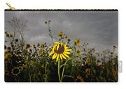 Goth Sunflower Carry-all Pouch