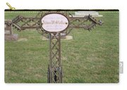 Gothic Grave Marker Carry-all Pouch