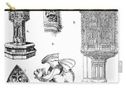 Gothic Ornament Carry-all Pouch