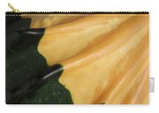 Gourd Green Orange Macro 1 Carry-all Pouch
