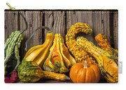 Gourds Against Wooden Wall Carry-all Pouch