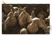 Gourds In Sepia Carry-all Pouch