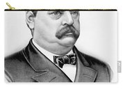 Governor Grover Cleveland - Twenty Second President Of The Usa Carry-all Pouch by International  Images