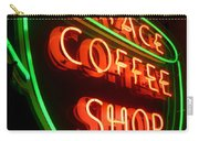 Grace Coffee Shop Neon Carry-all Pouch