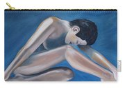 Gracefully Blue Carry-all Pouch
