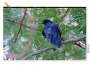 Grackle On A Branch Carry-all Pouch