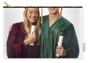Graduation Couple Iv Carry-all Pouch