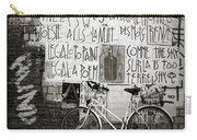 Graffiti And Bicycle Carry-all Pouch