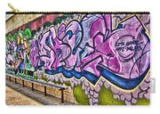 Graffitti-lets Gambl Make Dollars Carry-all Pouch