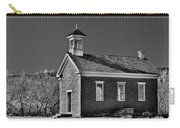Grafton Schoolhouse - Bw Carry-all Pouch