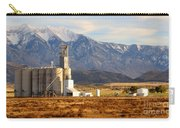 Grain Silo Below Wasatch Range - Utah Carry-all Pouch