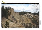 Grand Canyon Cliff In Yellowstone Carry-all Pouch