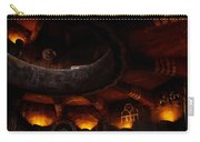 Grand Canyon Desert View Watchtower - Greeting Card Carry-all Pouch