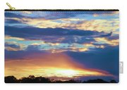 Grand Canyon Sky Over Treetops Carry-all Pouch
