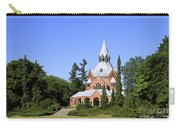 Grand Chapel In Central Cemetery Szczecin Poland Carry-all Pouch