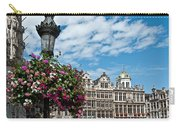 Grand Place Flowers Carry-all Pouch