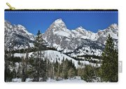 Grand Teton In Winter Carry-all Pouch