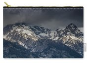 Grand Tetons Immersed In Clouds Carry-all Pouch