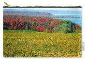 Grand Traverse Winery In Autumn Carry-all Pouch