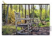 Grandmas Country Chairs Carry-all Pouch by Athena Mckinzie