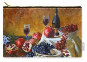 Grapes And Pomgranates Carry-all Pouch