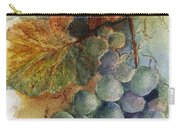 Grapes Iv Carry-all Pouch by Judy Dodds