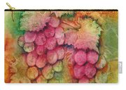 Grapes With Rust Background Carry-all Pouch