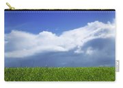 Grass In A Field, Ireland Carry-all Pouch