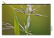 Grass In Flower Carry-all Pouch
