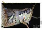 Grasshopper With Parasitic Mite Carry-all Pouch
