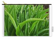 Grassy Drops Carry-all Pouch