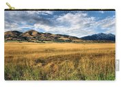 Grassy Plains And Ancient Dunes Carry-all Pouch
