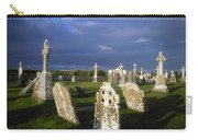 Graveyard, Clonmacnoise, County Offaly Carry-all Pouch