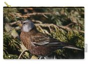 Gray-crowned Rosy Finch Carry-all Pouch