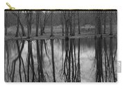 Gray Day Reflections Carry-all Pouch