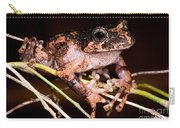 Gray Wood Frog Carry-all Pouch