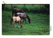 Grazing - Watercolor Carry-all Pouch