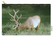 Grazing Elk Carry-all Pouch