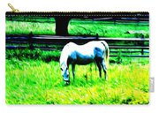 Grazing Horse Carry-all Pouch by Bill Cannon