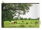 Grazing Under The Oak Carry-all Pouch