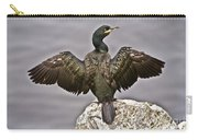 Great Black Cormorant II Carry-all Pouch by Heiko Koehrer-Wagner