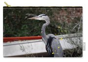 Great Blue Heron - Blue Man Flew Carry-all Pouch